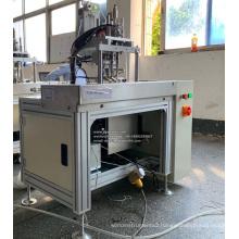 Semi Automatic Blank Face Mask Ultrasonic Earloop Spot Welding Machine