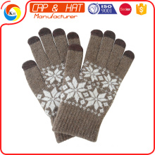 hight quality new gift touch screen glove smart touch gloves Customized Knitted Winter Touch Screen Glove