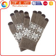 Персонализированные трикотажные зимние перчатки с сенсорным экраном