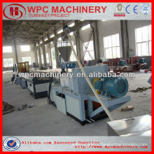 turnkey project machines in stock!!! wood plastic composite wpc profile machine