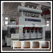 Melamine Paper Hot Press Laminating Machine
