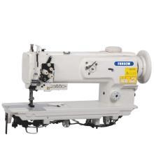 Máquina de costura pesada de ponto fixo para alimentação dupla de pé de alimentação composta de agulha