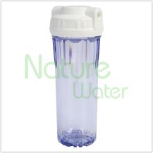 O dobro do anel claro RO alojamento de filtro de água