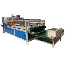 BZX-2800 semi-auto gluer machine for corrugated paper box gluing