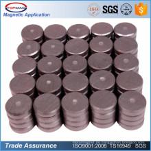 Kundengerechte runde starke C8-Ferrit-Scheiben-Magneten für Fertigkeit-Kühlraum
