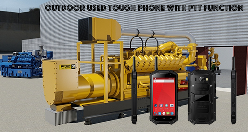 Outdoor Used Tough Phone with PTT Function