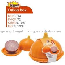 New! Lovely Plastic Onion Food Box