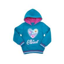 2016 Moda Sudadera para niña, ropa de niños populares (WGS019)