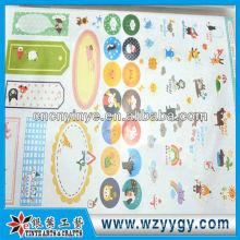 Etiquetas engomadas decorativas del OEM del pvc para los muebles de fábrica