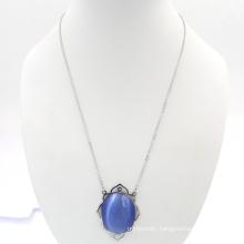 Sapphire Design Fashion Gem Necklace Jewelry Making Supplies