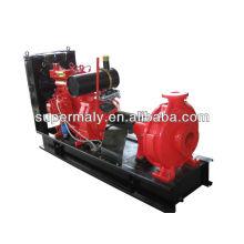 High pressure water pump powered