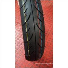 High Performance Motorcycle Tubeless Rubber Tyre (90/90-12)