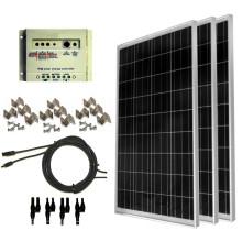 100 Watt Solar Panel Complete Kit