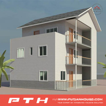 Low Cost High Quality Light Steel Village Villa House