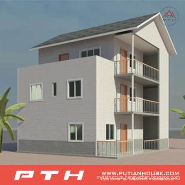 High Quality Light Steel Villa House as Prefab Luxury Building