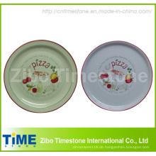 Porzellanteller mit Decal (TM213)