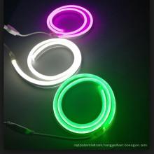 12V Rgb Full Color Neon Strip waterproof