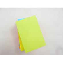 Notes collantes néon promotionnelles et de haute qualité