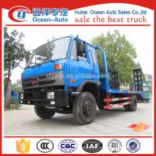 Dongfeng 1-10T flatbed caminhão lado trilhos para venda