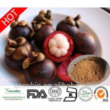 Polvo de mangostán 10% -90% Extracto de cáscara de mangostán natural de alta calidad 100%