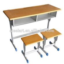 дешевые цены акций, используемых парта стул для использования студентами
