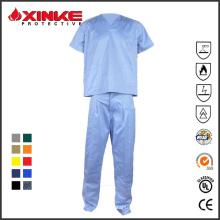 Uniforme personalizado de enfermera Oekotex para el hospital