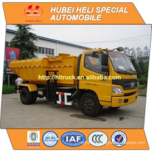 FOTON 4x2 8CBM hydraulic lifting garbage truck 130hp hot sale for export side loader