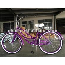 26 Inch Beach Cruiser Bike Colorful Sand Bicycle