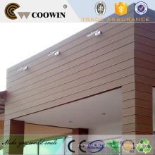 Modernes Haus wpc Composite Panel Wand Abstellgleis