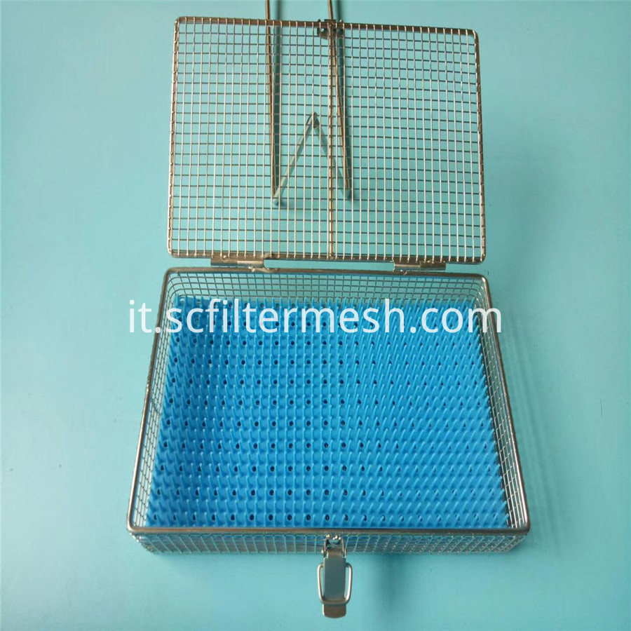 Lid Metal Basket