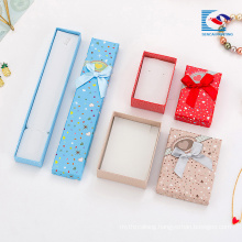 China cheap cardboard jewelry gift box decorative gift boxes wholesale supplier