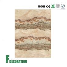 Строительные материалы ПВХ мраморной текстуры душ стены панелей
