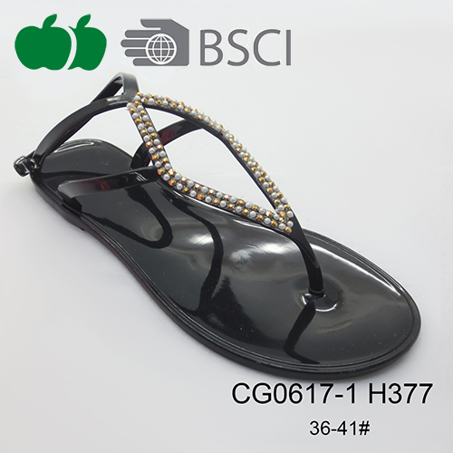ladies fancy jelly sandals
