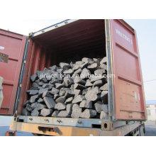 Sucata de ânodo de fusão de cobre de 200-400mm / bloco anodo / bloco de carbono