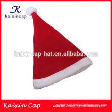 2016 sombrero clásico de alta calidad de la Navidad santa