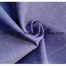 Tissu 100% coton teinté en jersey de coton (QF13-0394)