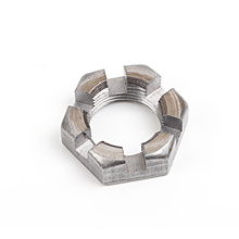 Manufacturer Factory Directly Supply Fasteners 1-14 Slotted Hex Finished Jam Nut stainless hexagon bolt and nut