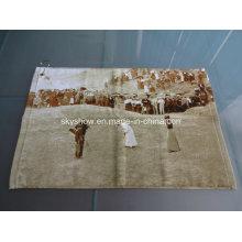 100% Cotton Custom Printed Golf Towel (SST0818)