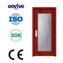 New design glass wooden door/wood door/glass door