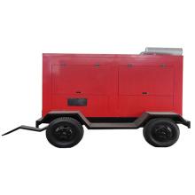 Sistema de generador diesel impermeable del remolque móvil insonoro