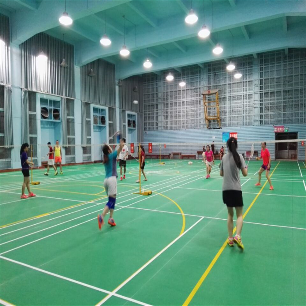 Enlio badminton court tiles