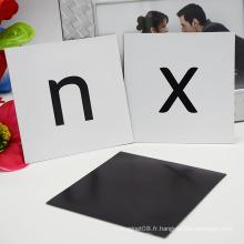 Vente chaude Vente Aimants Frigo Lettres Puzzle / Alphabet Magnétique Autocollant pour Enfant