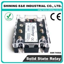 SSR-T40DA 40A Relé de estado sólido de tres fases DC a AC