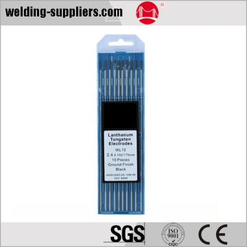 Chaud-vente tungstène électrode WL10