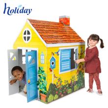 Nouvelle excellente maison de jeu pliable enfants ondulés