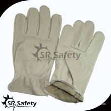 SRSAFETY мода свинья зерна леди кожа вождения перчатки