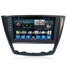 Venta caliente! Sistema multimedia del reproductor de DVD del coche de Android 6.0 del fabricante para Renault Kadjar 2015 Zona dual dual del OEM de la pantalla grande de GPS