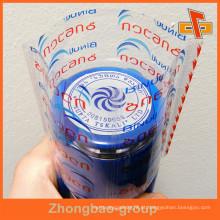Industrial Shrink Wrap Grande encolhimento PET garrafa plástico etiquetas
