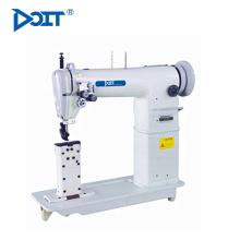 DT820 Sin radiación y Niza AGUJAS DOBLES Máquina de coser industrial de puntada de pescar con doble aguja y posacaba