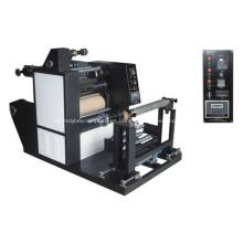 Máquina de laminación de alta velocidad del rodillo ZX-650 Características del producto El rodillo de ZX-650 sin la máquina de laminación de la película del pegamento se compone de t